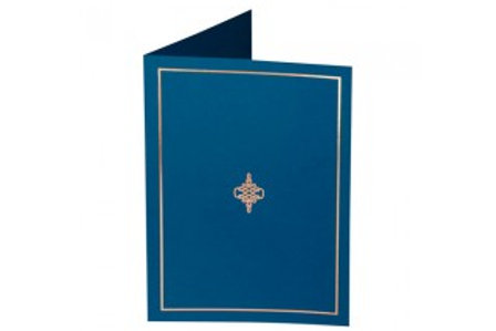 Blue Presentation Covers with Gold Border  (PC07)