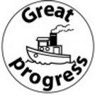Great Progress Boat Stamp  (ST201)