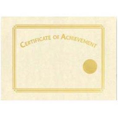 A4 Gold Foil Certificate of Achievement Testa'mur  (7100)