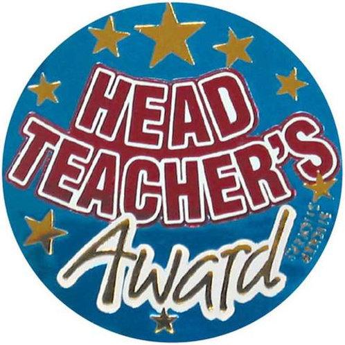 Head Teacher's Award Stickers  (589)