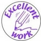 Excellent Work Pencil Stamp  (ST228)