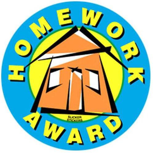 Homework Award Stickers  (542)