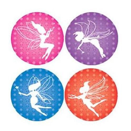Fairies Metallic Multi Pack Stickers  (726)