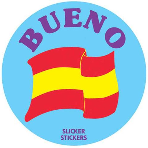 Bueno - Spanish for Good Stickers  (856)