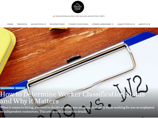 How to Determine Worker Classification Status and Why it Matters