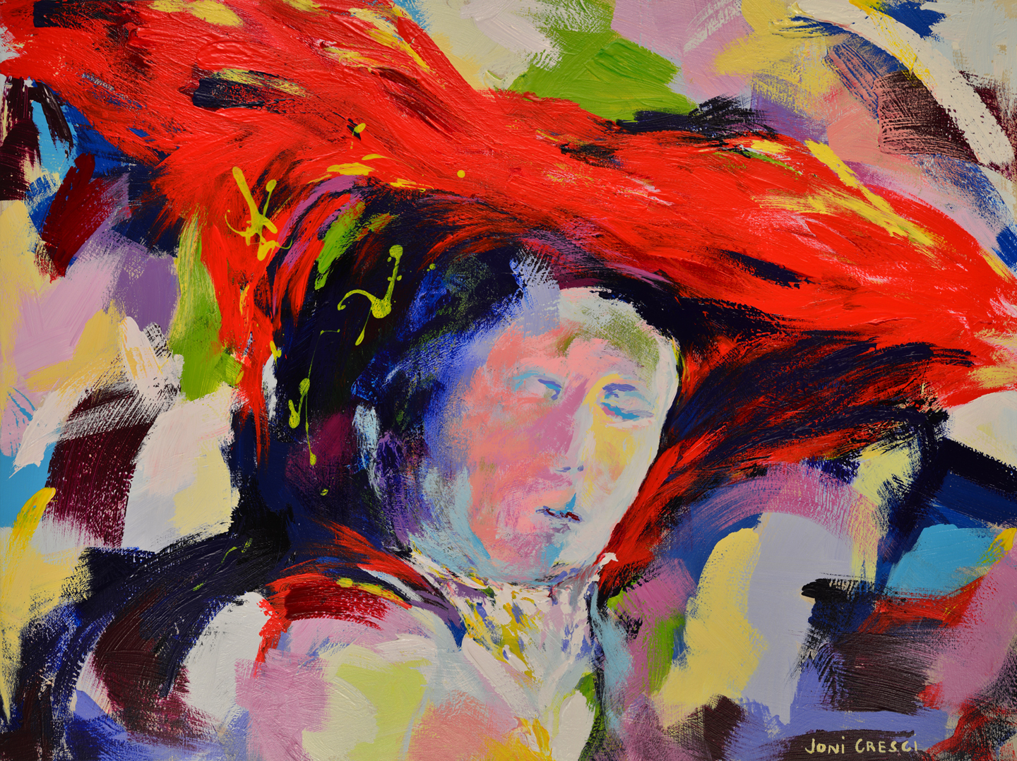Ladywith a Red Hat II