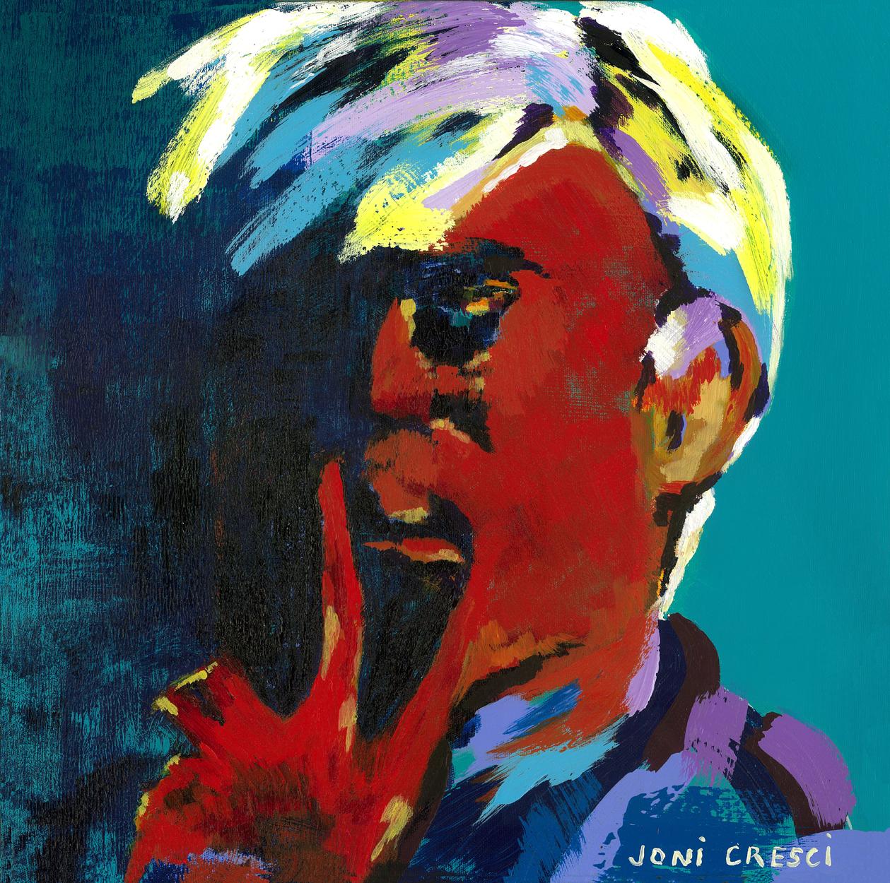 Andy Warhol Self Portrait
