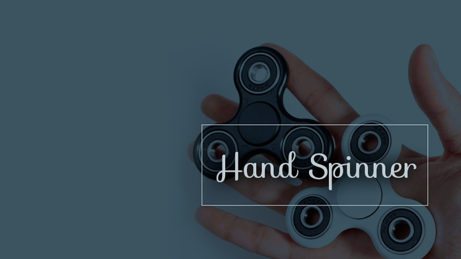 O que é e para que serve o hand spinner