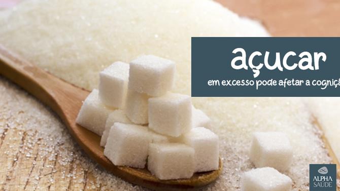 Açúcar em excesso pode afetar a cognição, indica pesquisa