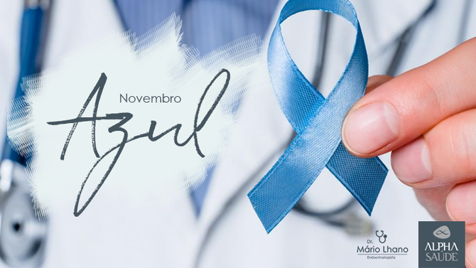 Novembro azul: e o Dia Mundial do Diabetes.