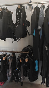 Scuba Diving Equipment, Bali Breizh Divers