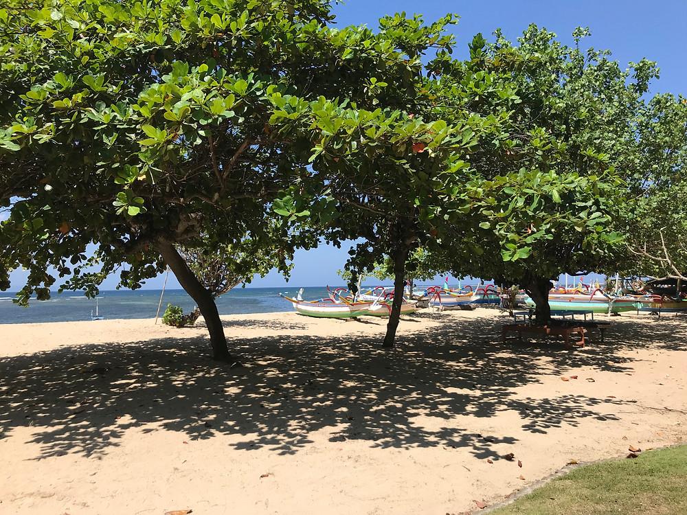 Sanur, sa plage