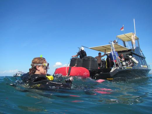 Diving Boat, Bateau Bali breizh Divers