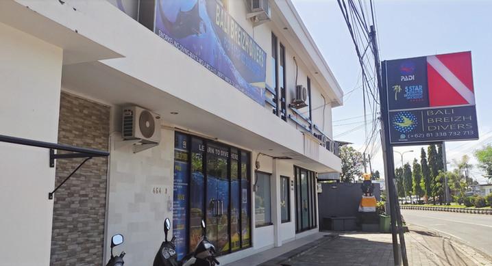 Bali Breizh divers office