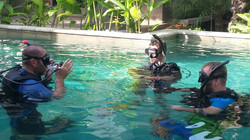 Pool session - Divemaster exercices