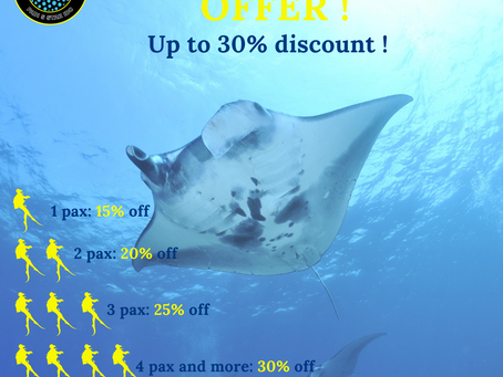 Diving: July promotions
