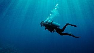 Diver underwater Bali