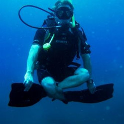 Underwater exercices for beginners