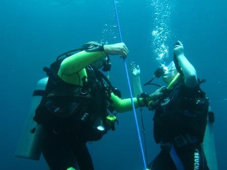 Teaching Open Water class