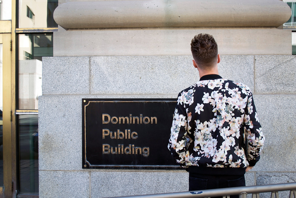Noie Fashion: Floral Bomber Jacket
