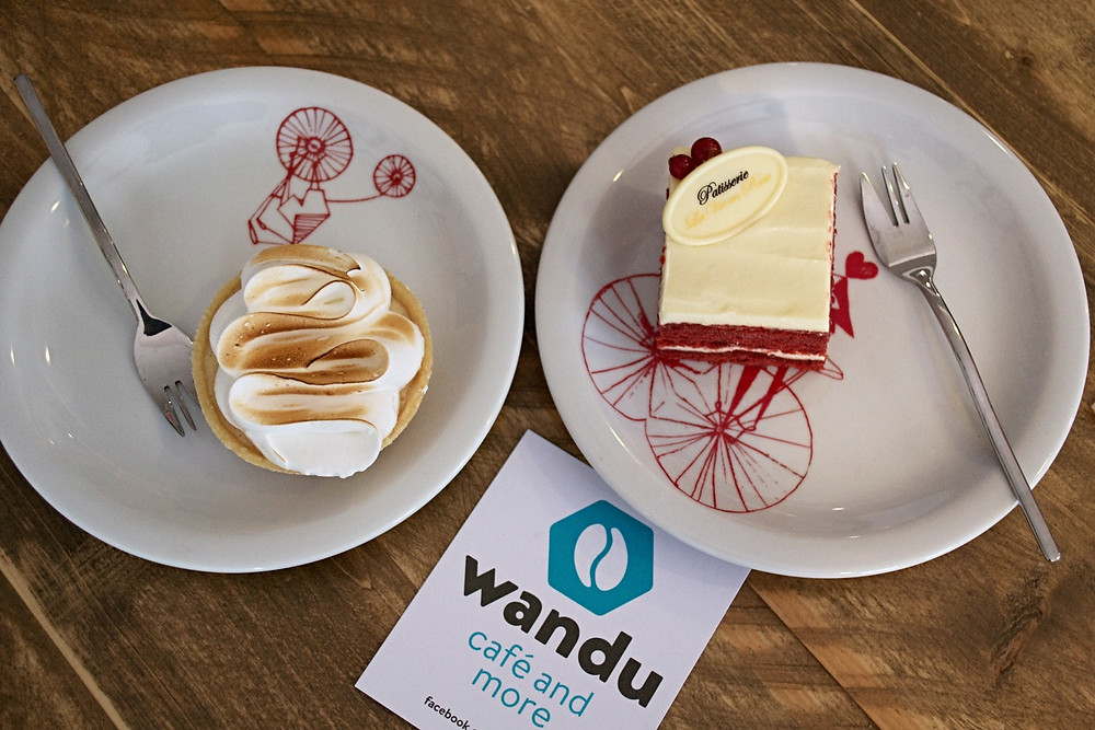 Noie Vacation Curacao, coffee and treats at Wandu Cafe and More