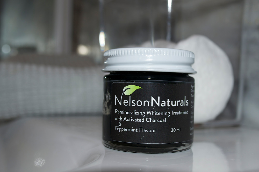 Noie Beauty: Nelson Naturals Remineralizing Whitening Treatment with Activated Charcoal