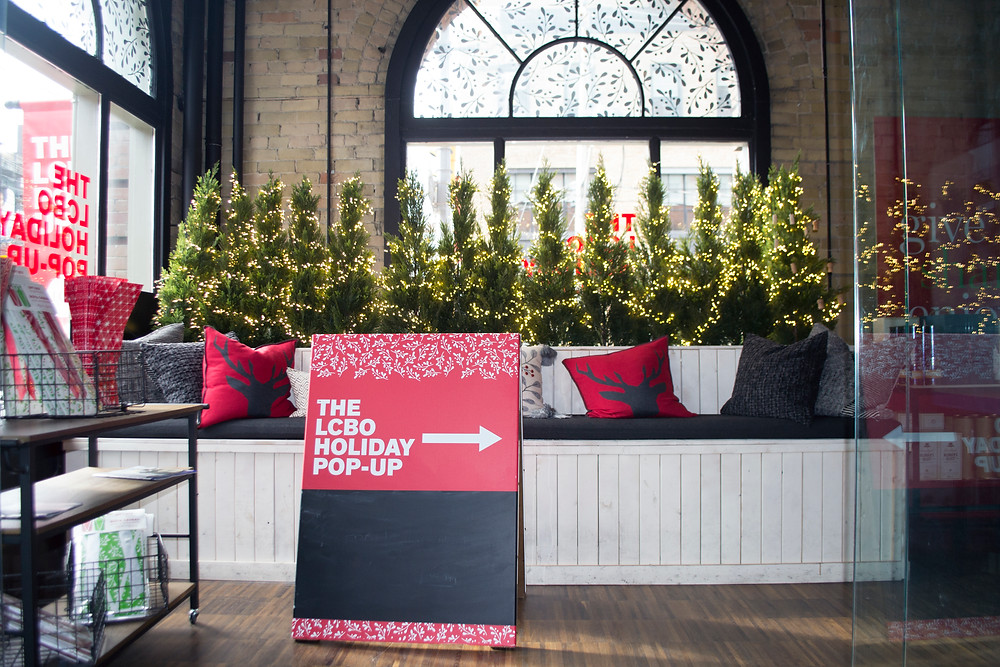Note lifestyle: LCBO Holiday Pop-up