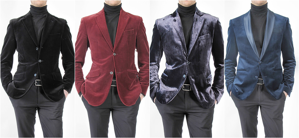 Noie Fashion: Men's Velvet Blazer