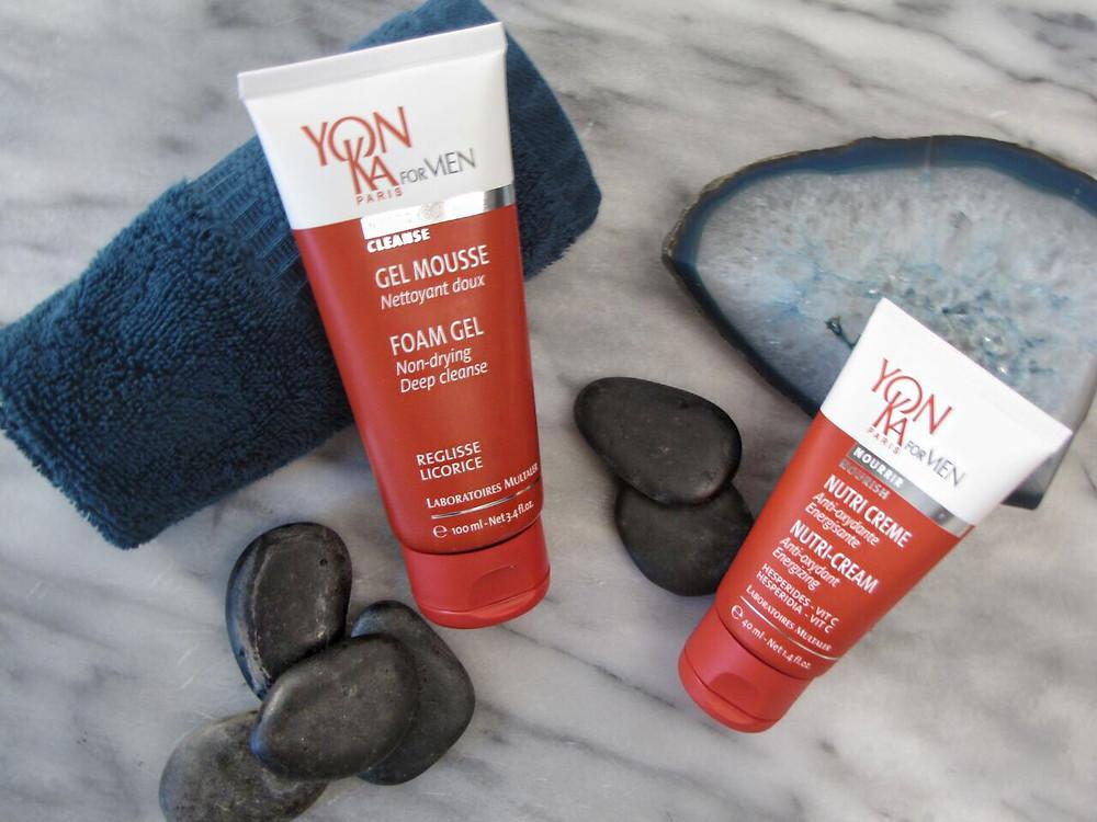 Noie Beauty: Yonka men's skin care line Review