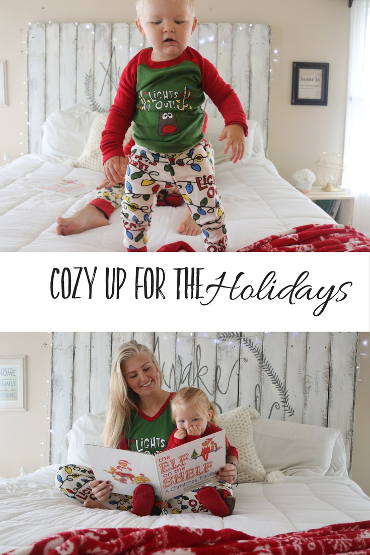 Blissfully Boyce Blog Christmas Pajamas Lights Out Lazy One