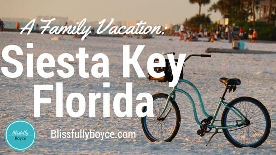 Siesta Key, Blissfully Boyce Blog, Travel Blog