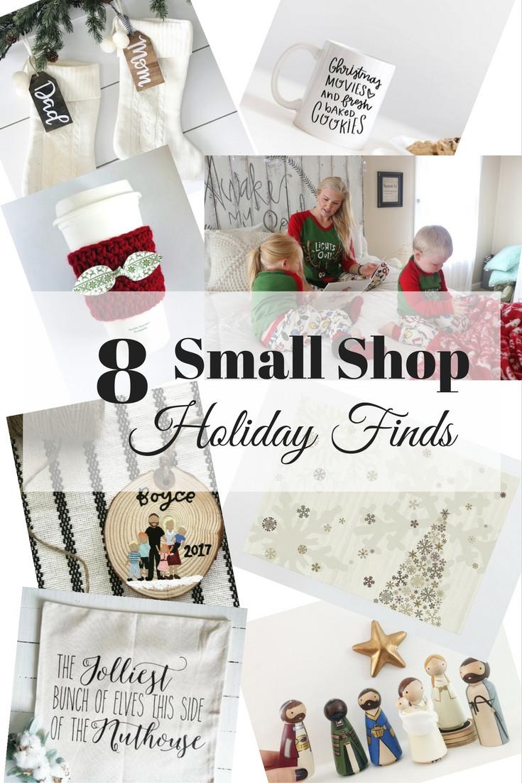 Blissfully Boyce Blog Christmas Holiday Small Shop