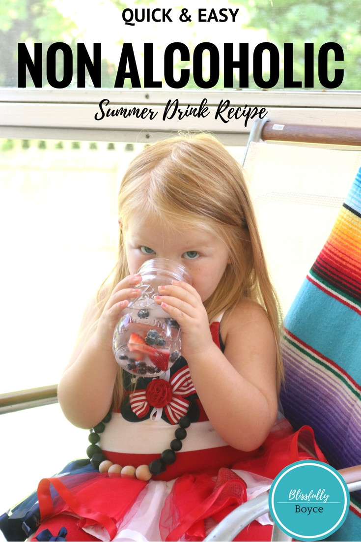 Quick and Easy Summer Drink, Blissfully Boyce, Lifestyle Blog, Recipe