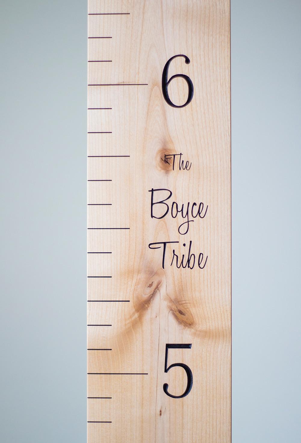 Blissfully Boyce Blog, Wooden Grove, Wooden Growth Charts, Handmade, Kids Room Decor, Home Decor