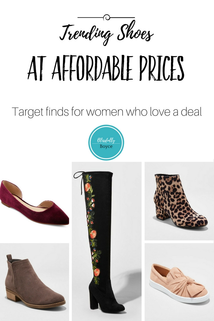 Blissfully Boyce Blog Trending Shoes Target Finds Womens Fashion