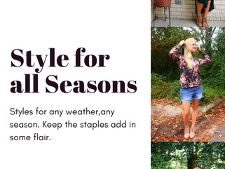 Find your style in every season