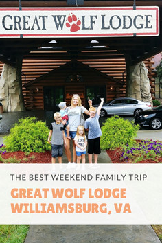 Weekend Family Vacation to Great Wolf Lodge with helpful tips