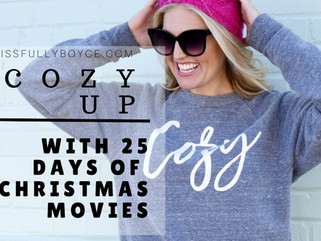 Cozy Up with 25 Days of Christmas movies
