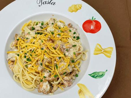Rezept: Pasta mit Pfifferlingen
