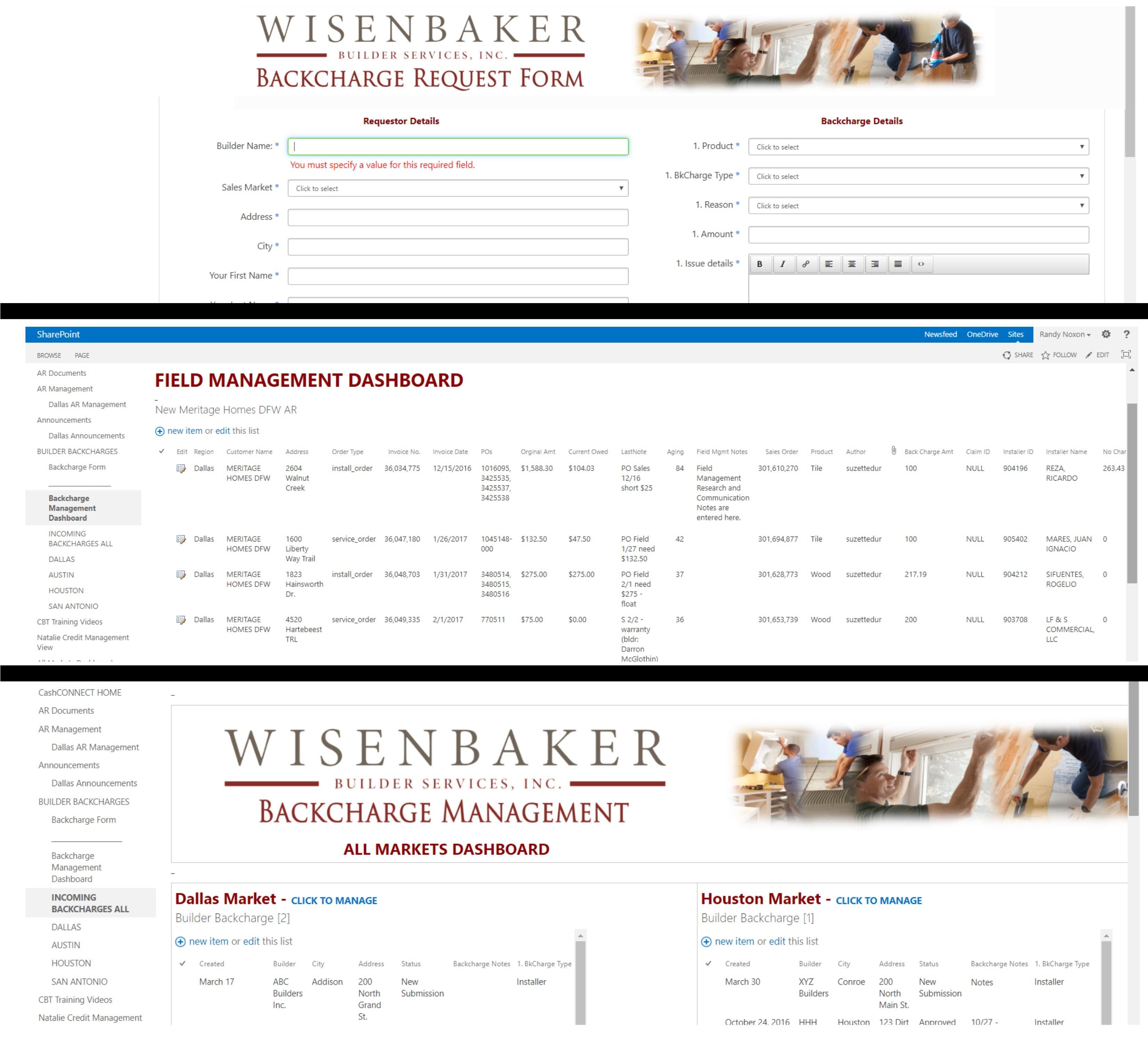 Field Management Portal