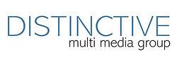 Distinctive Multi Media Group Logo white