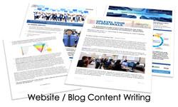 Website Blog Content Writing