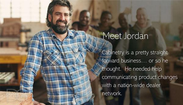Distinctive Multi Media Group Jordan Cab