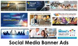 Social Media Banner Ads