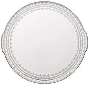 WHITE LACE FUENTE TORTA 34 CM VILLEROY & BOCH