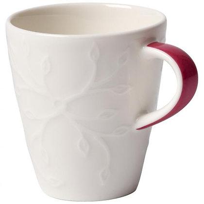 CAFFE CLUB FLORAL TOUCH ROSE TAZA ESPRESSO S/PLATO 0.10L