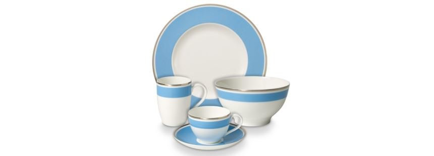 JUEGO ANMUT MY COLOUR SKY BLU 10 PERS. VILLEROY & BOCH