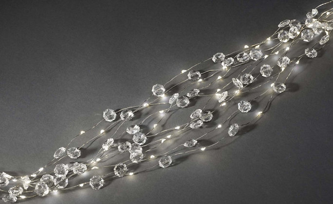 CADENA DE LUCES  DIAMANTES, LED KONSTSMIDE