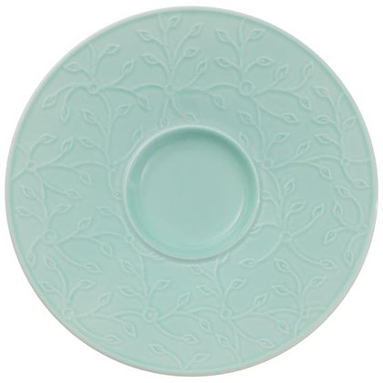 CAFFE CLUB FLORAL TOUCH OF IVY PLATO PARA TAZA CAFE