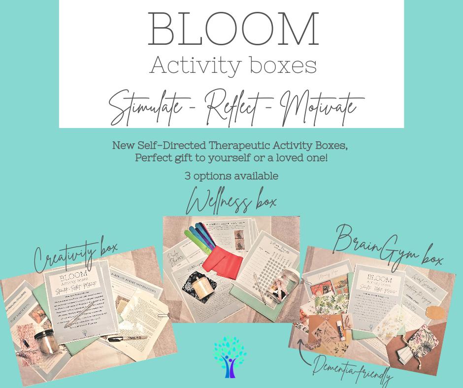 NEW - Activity Boxes